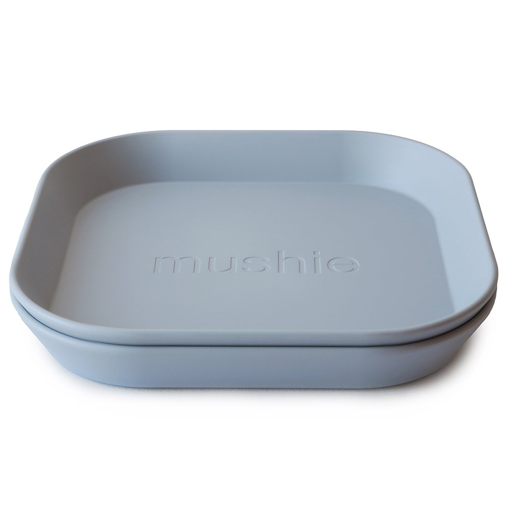 Mushie firkantede tallerkener