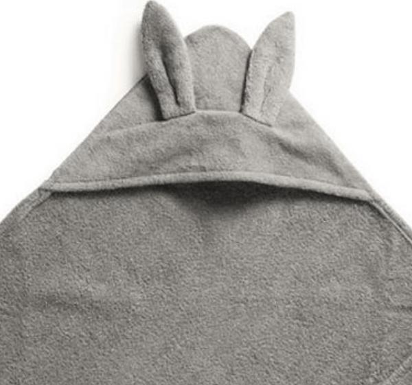 Elodie Details Hættehåndklæde Marble Grey