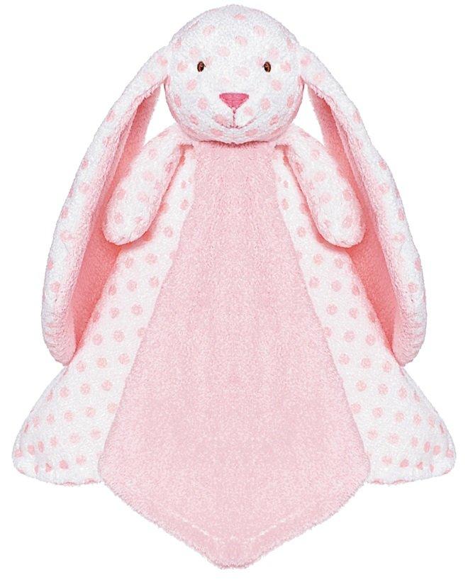 Teddykompaniet Nusseklud Big Ears Pink Bunny
