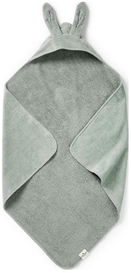 Elodie Details Hættehåndklæde Mineral Green