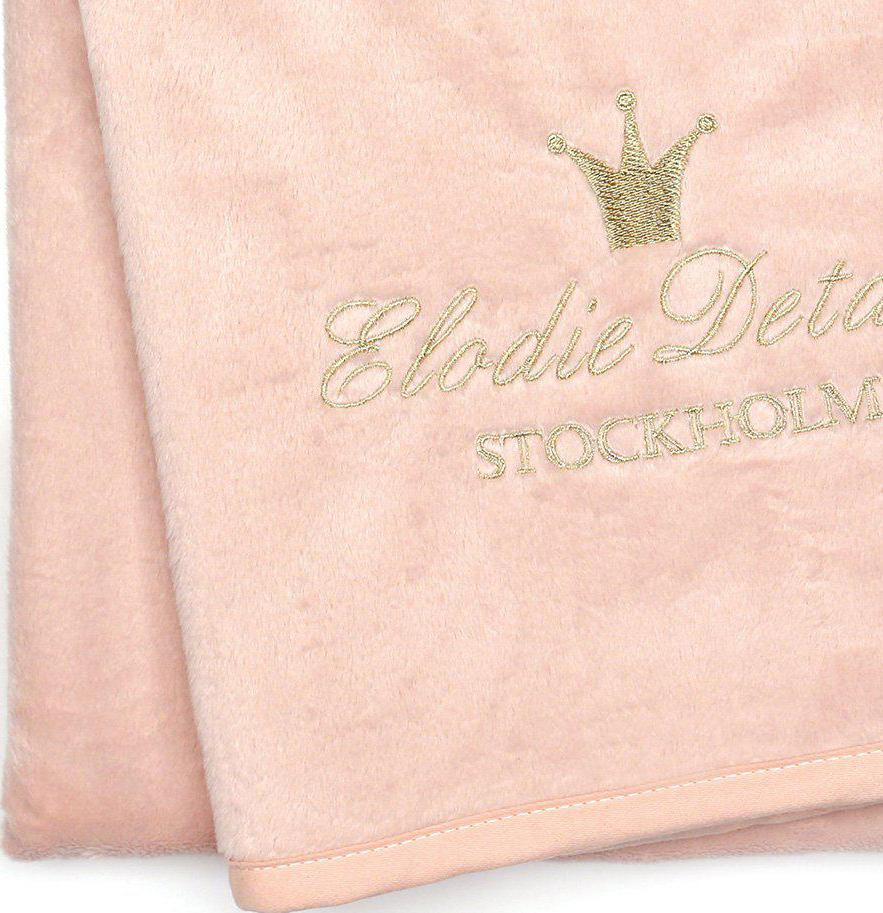 Elodie Details Tæppe Powder Pink