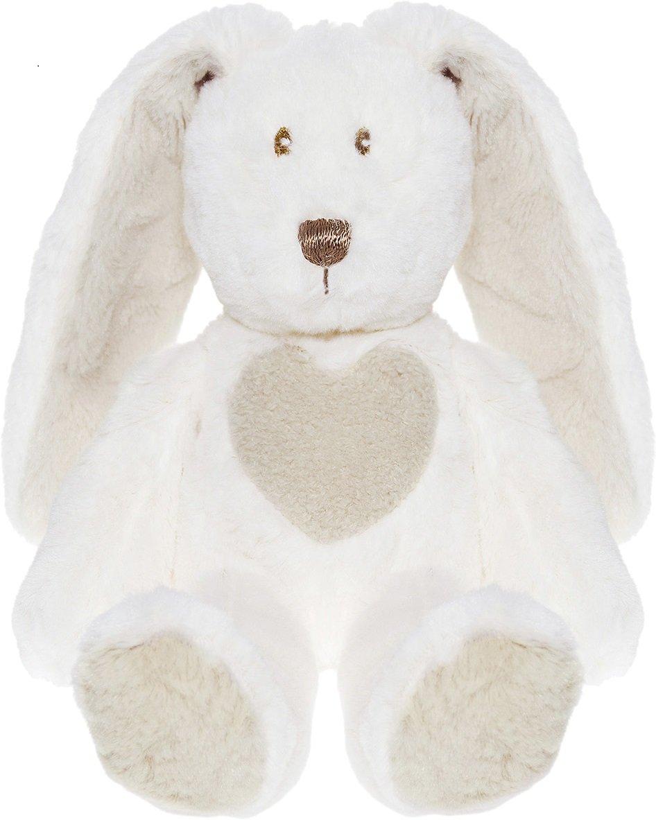Teddykompaniet Kaninbamse White