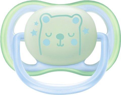 Philips AVENT Ultra Air Night Natsut 0-6 mdr. Mint Star - Bear
