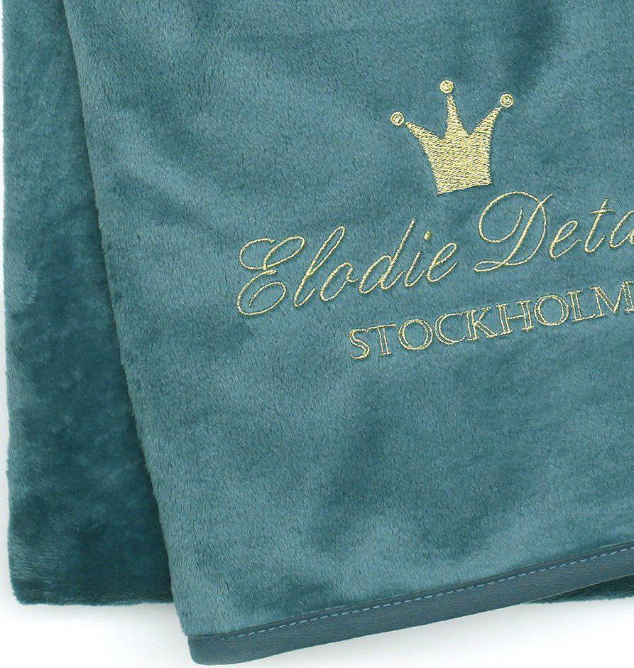 Elodie Details Tæppe Pretty Petrol