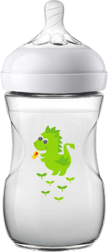 Philips AVENT Deco 260 ml. Sutteflaske Deco Green Dragon