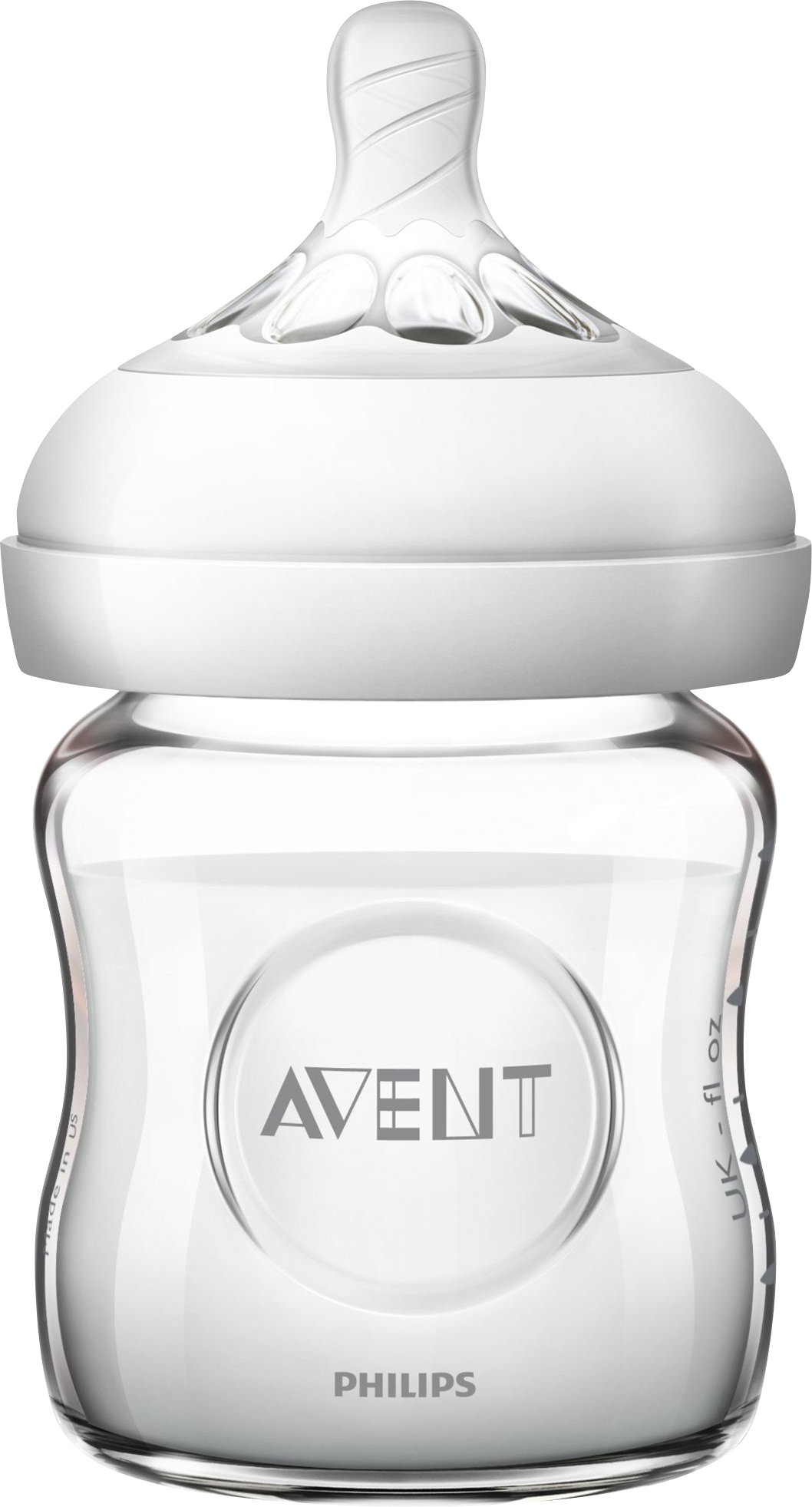Philips AVENT 120 ml. Natural Sutteflaske i Glas