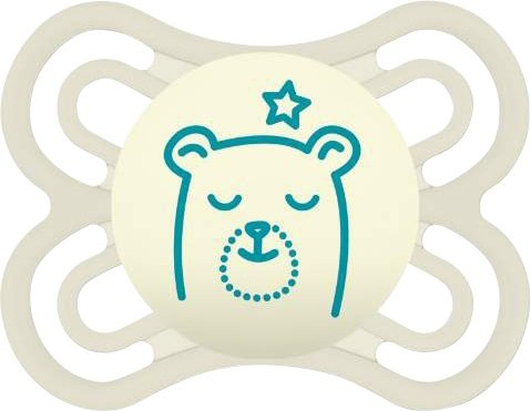 MAM Perfect Night Natsut 0-6 mdr. White bear