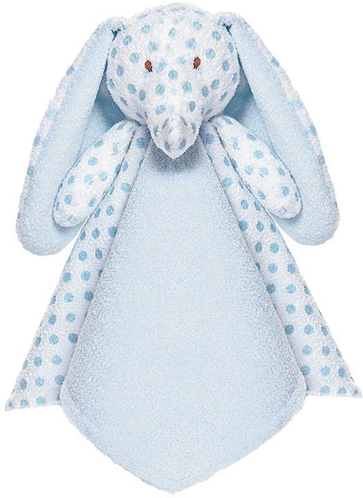 Teddykompaniet Nusseklud Big Ears Blue Elephant
