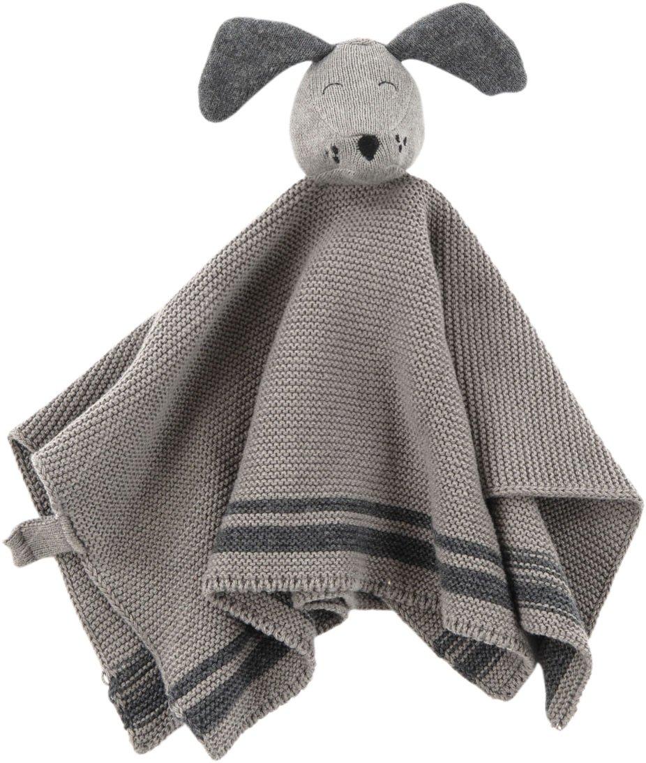 Smallstuff Nusseklud Strikket Dog Grey