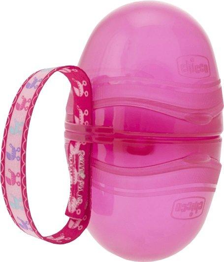 Chicco Sutteboks Med Dobbeltrum Pink
