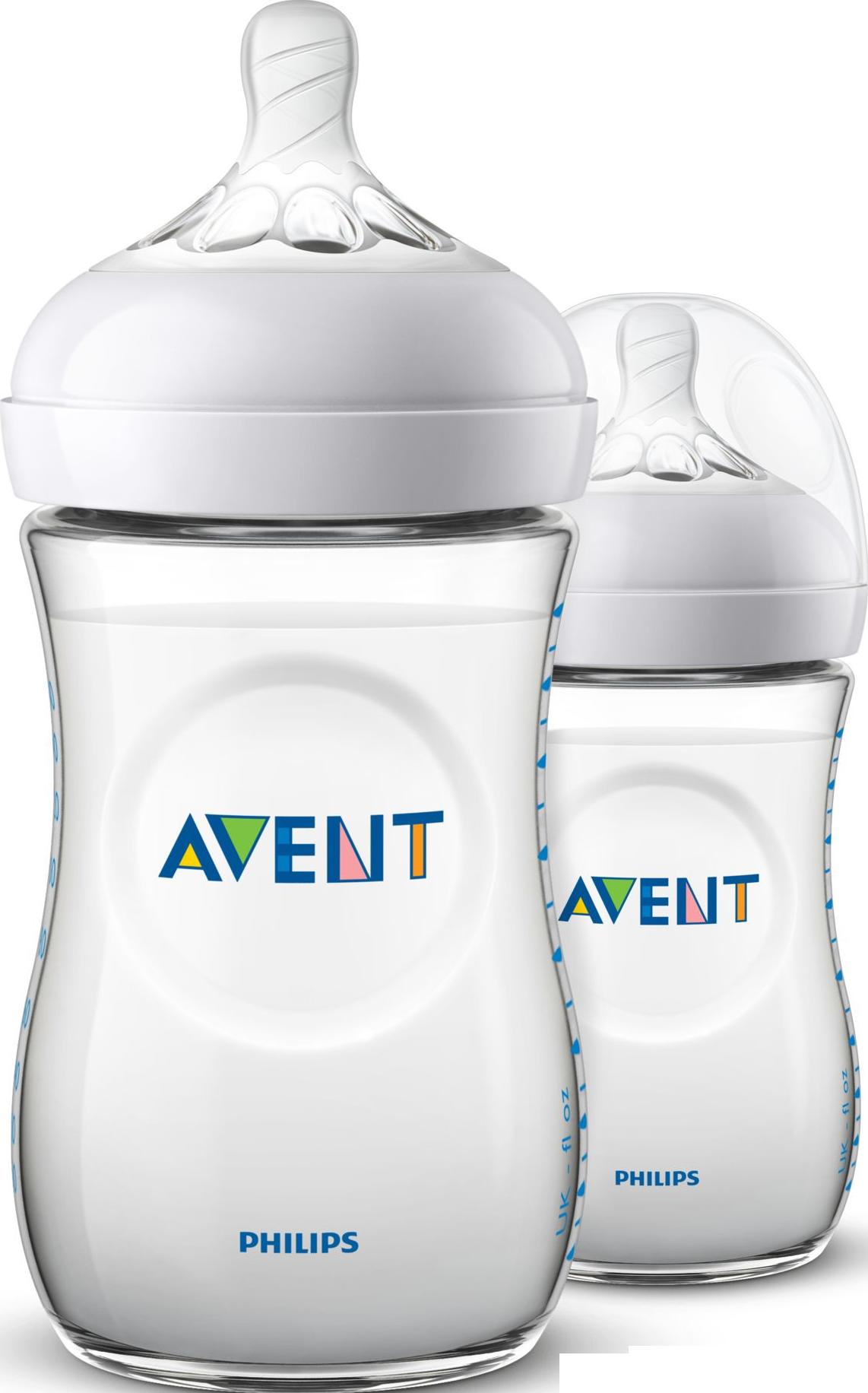 Philips AVENT Natural Antikolik Sutteflasker 2 x 260 ml.
