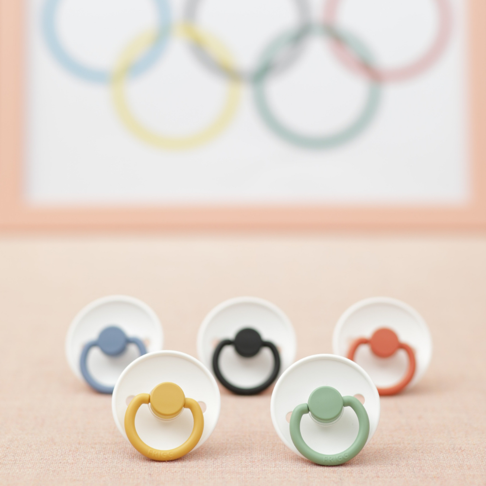 FRIGG Olympic suttepakke i latex str.  6-18  mdr. Limited Edition