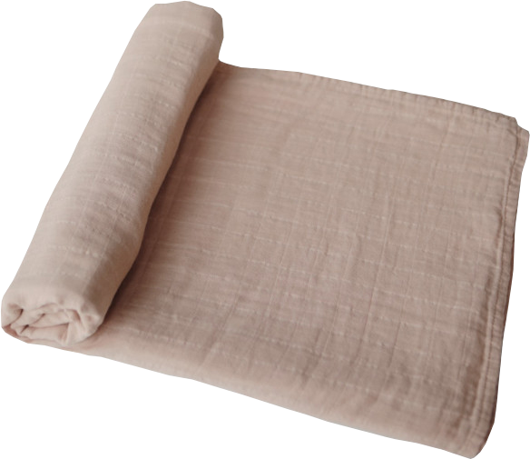 Mushie Babysvøb Swaddle Pale Taupe