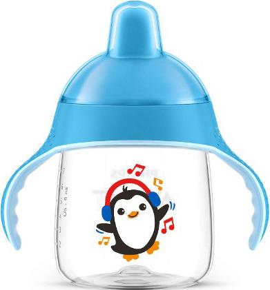 Philips AVENT 260 ml. Ergonomisk Drikkekop Blue
