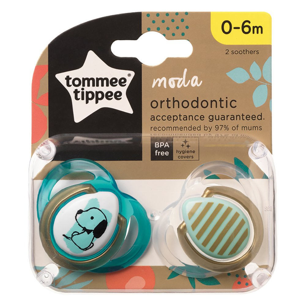 Tommee Tippee Moda Sut 0-6 Mdr. Turquoise Gold