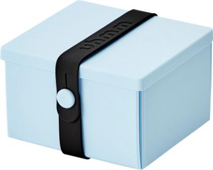 Uhmm Box Madkasse No. 02 Light Blue / Black