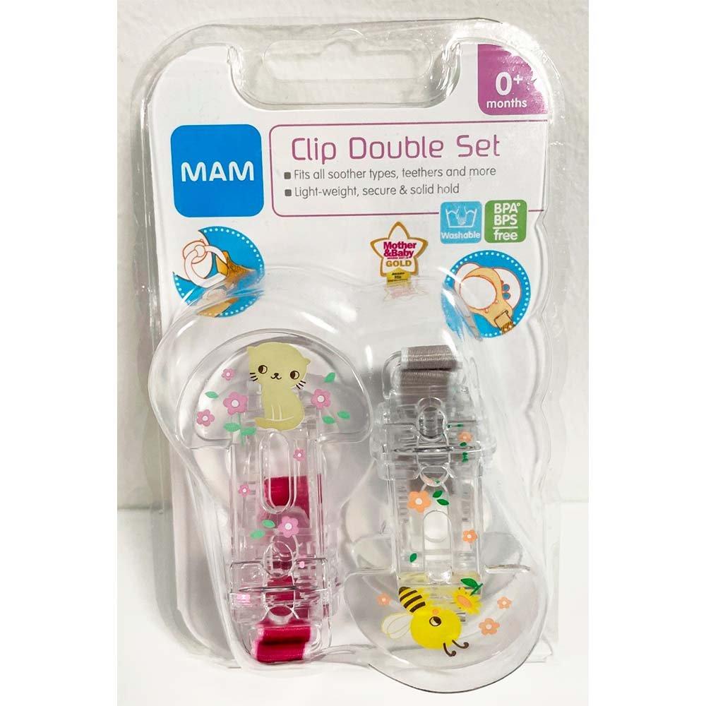 MAM Double Clip Set