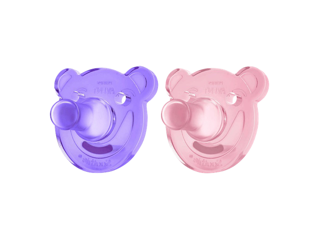 Philips AVENT Soothie Sut 3 Mdr. Purple & Pink