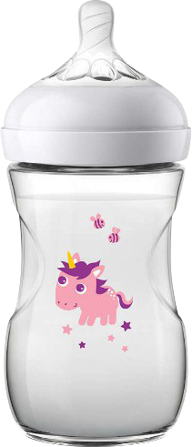 Philips AVENT Deco 260 ml. Sutteflaske Deco Pink Unicorn