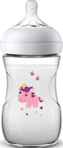 Philips AVENT Deco 260 ml. Sutteflaske Deco Pink Unicorn
