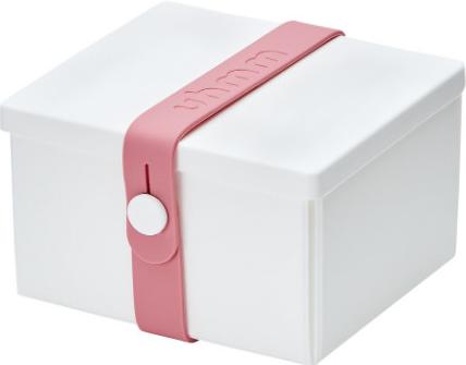 Uhmm Box Madkasse No. 02 White / Pink