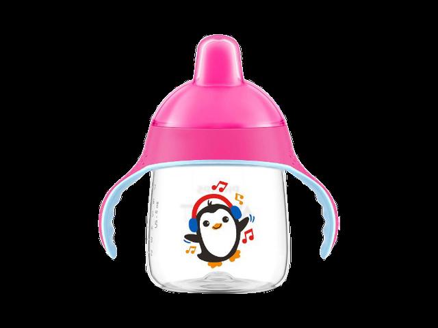 Philips AVENT 260 ml. Ergonomisk Drikkekop Pink