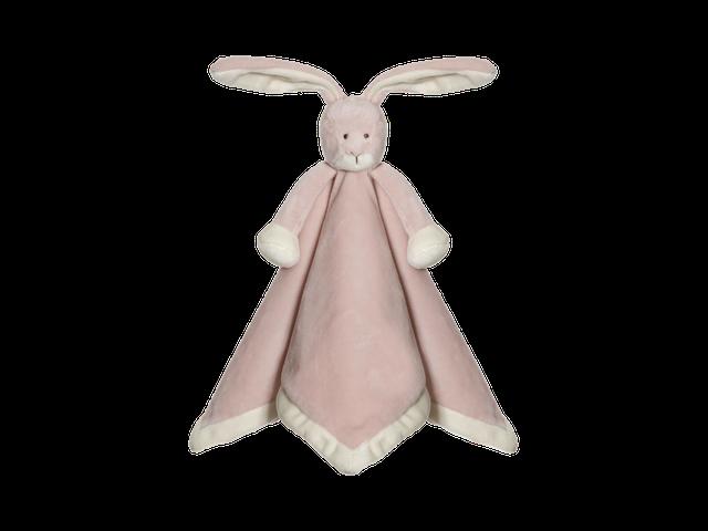 Teddykompaniet Diinglisar Animal Nusseklud Bunny Rosa