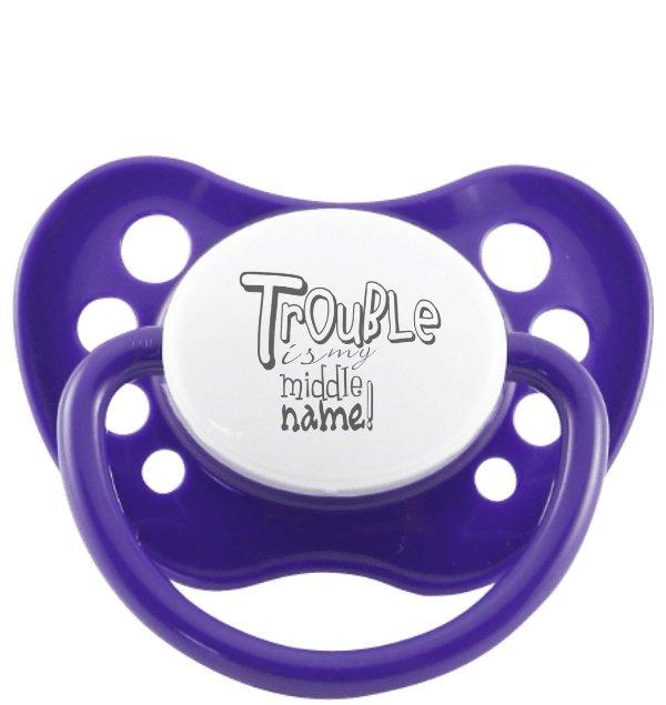 Purple Hortensia - Trouble