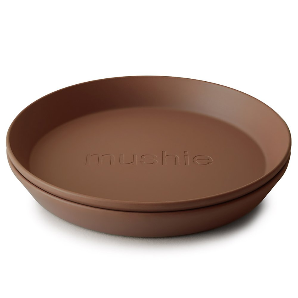 Mushie Tallerken Rund Caramel