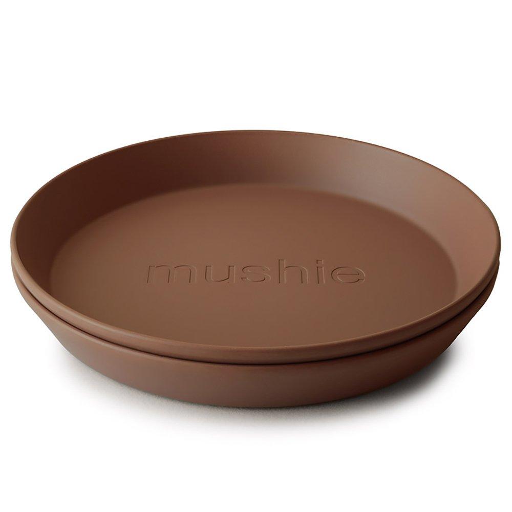 Mushie runde tallerkener